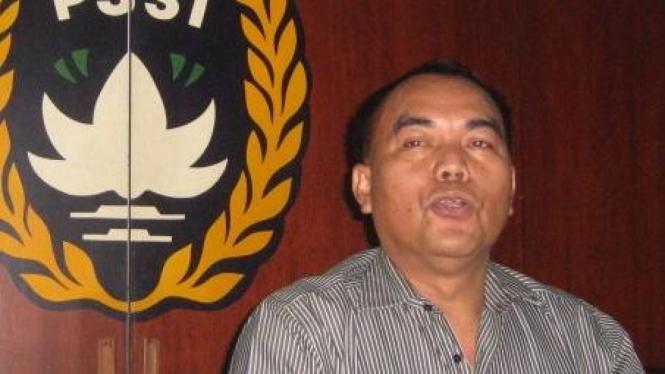 Calon Ketua Umum PSSI, Bernhard Limbong.