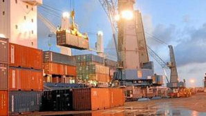 Ilustrasi industri logistik