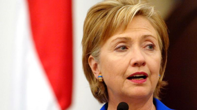 Kunjungan Hillary Clinton di Deplu