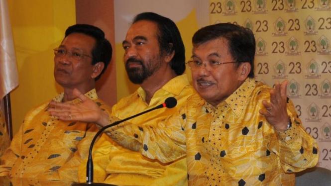 Sri Sultan Hamengku Buwono X, Surya Paloh & Jusuf Kalla