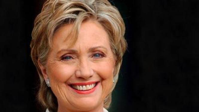 Rambut Hillary Clinton