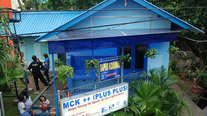 MCK umum di kelurahan Petojo