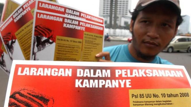 Sosialisasi aturan kampanye pemilu 2009