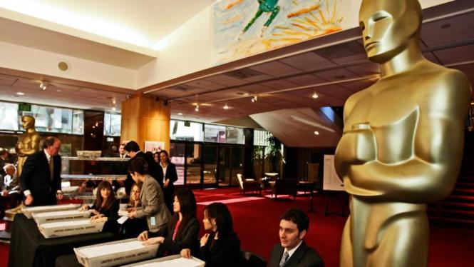 Persiapan menjelang malam penghargaan Piala Oscar ke-81
