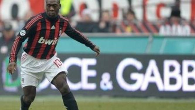 Clarence Seedorf, pemain AC Milan