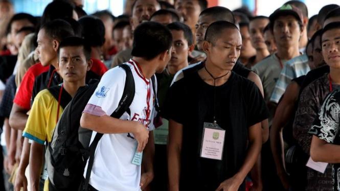 TKI Ilegal yang Dideportasi dari Malaysia Tiba di Tanjungpinang