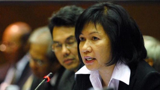 Direktur Utama Pertamina, Karen Agustiawan