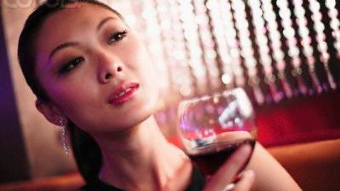 Wanita dan Wine