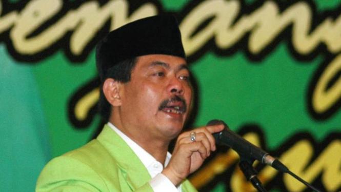 Ketua Umum Partai Bintang Reformasi (PBR), Bursah Zarnubi