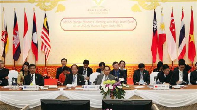 Pertemuan Tingkat Menlu ASEAN di Cha Am, Thailand