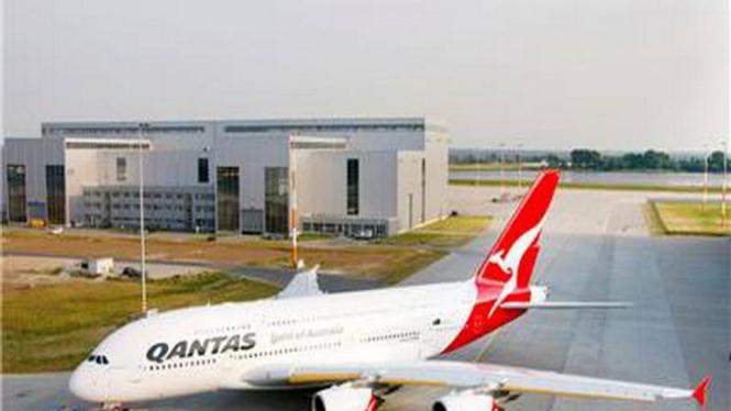 Pesawat Airbus A380 milik Qantas