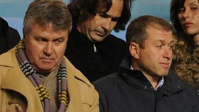 Guus Hiddink & Roman Abramovich