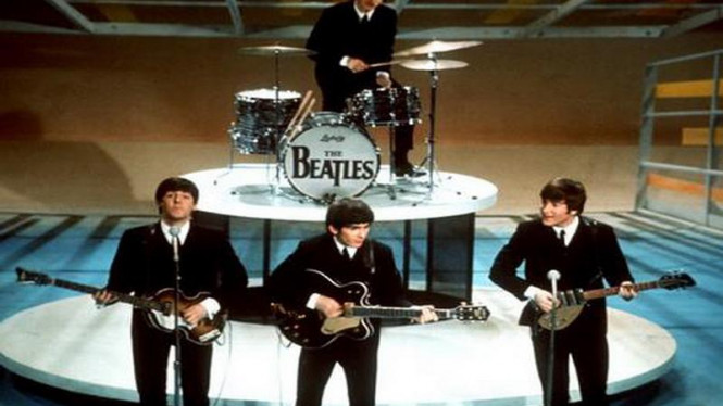 The Beatles di masa jaya