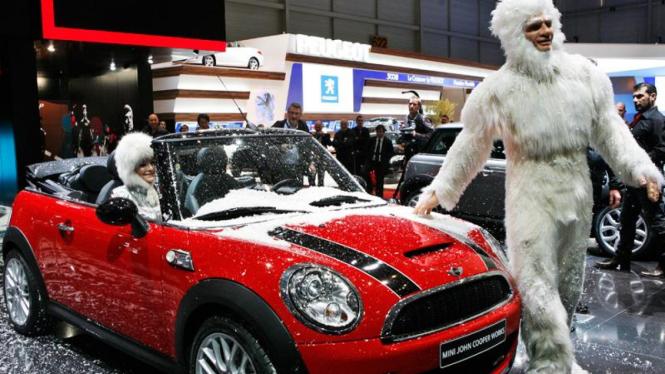 New Mini John Cooper di Geneva Auto Show