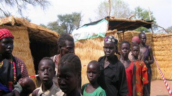 Anak-anak pengungsi di Sudan
