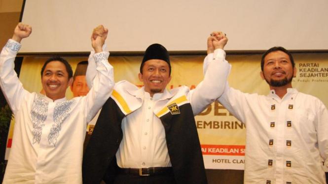 Tifatul Sembiring, Anis Matta & Ketua Pembina Daerah Dakwah 1 PKS Yusuf Khalid