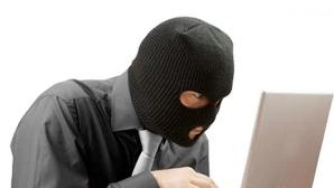 Ilustrasi pencurian dan penyebaran data keamanan pribadi.