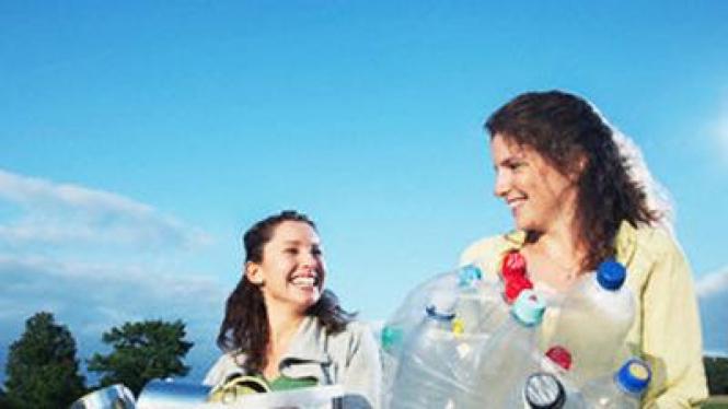 Daur ulang, kebiasaan ramah lingkungan