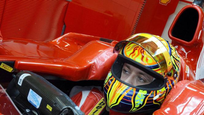 Valentino Rossi di Ferrari