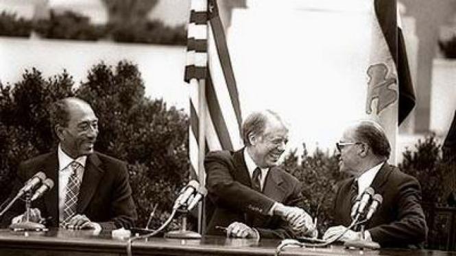 Perdamaian Israel - Mesir di Gedung Putih 26 Maret 1979