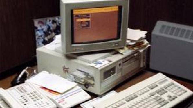 Komputer kantor ditinggal nyala