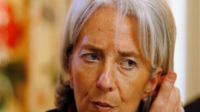 Menteri Keuangan Prancis, Christine Lagarde