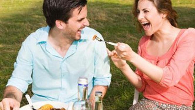 Piknik bersama pasangan