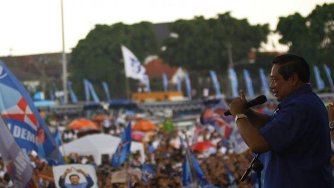 Kampanye terbuka Partai Demokrat di Yogyakarta
