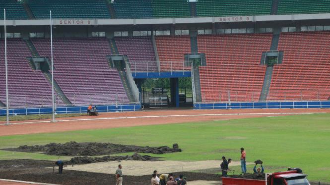 Perbaikan Stadion Utama Gelora Bung Karno (SUGBK)