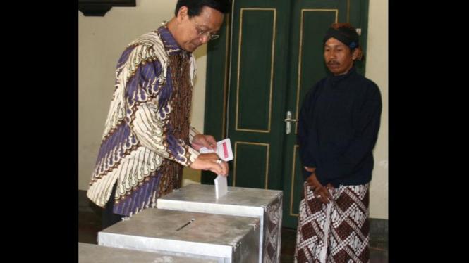 Pemilu Legislatif 2009: Sultan Hamengku Buwono X
