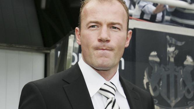 Alan Shearer, pelatih sementara Newcastle