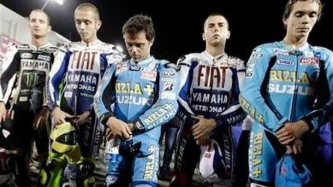 Ki-ka; Edwards,Rossi, Capirossi, Lorenzo, dan Vermeulen