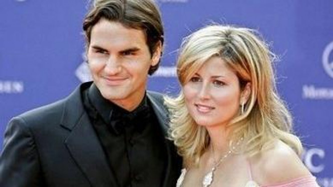 Roger Federer dan Mirka Vavrinec