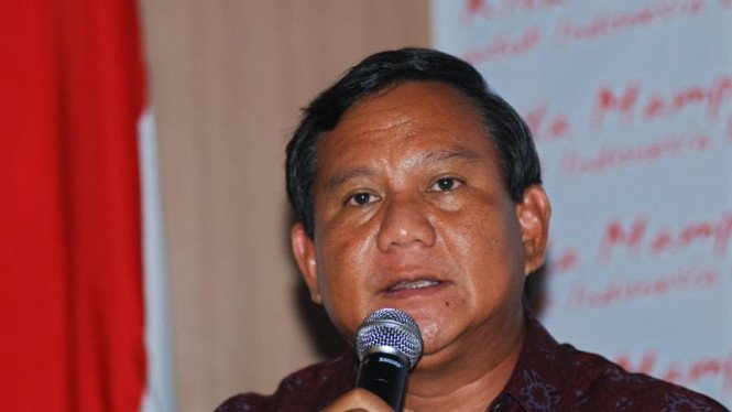 Prabowo Temui Soetrisno Bachir