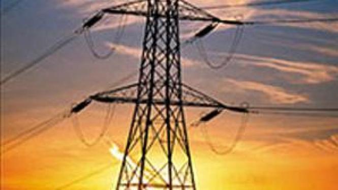 Menara SUTET Perusahaan Listrik Negara (PLN)