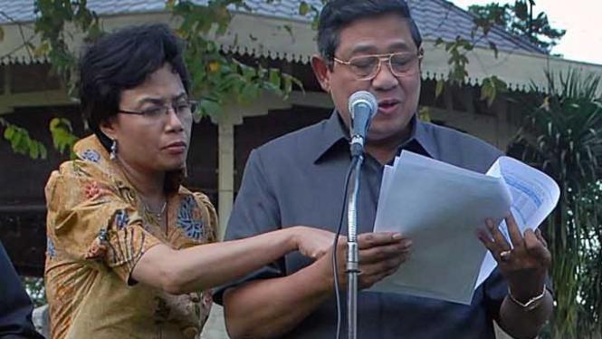 Susilo Bambang Yudhoyono & Sri Mulyani