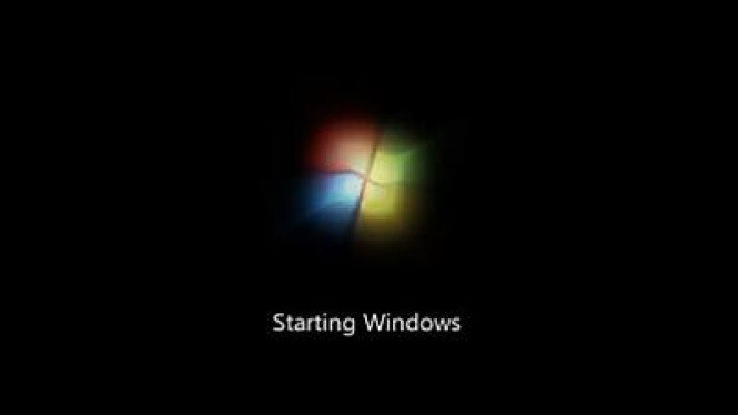Windows 7 Startup