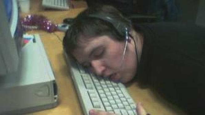 Tertidur saat bekerja shift malam