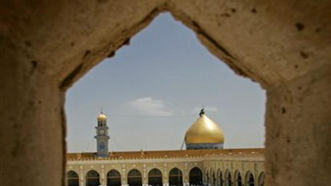 Masjid di Kota Kufa, Irak