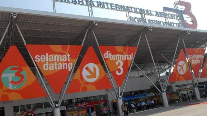 Terminal 3 Bandara Internasional Soekarno Hatta,Tangerang