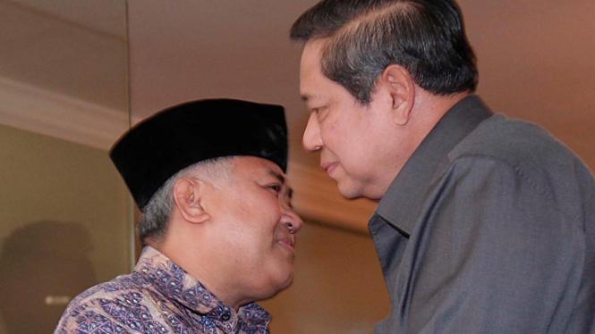 Presiden Yudhoyono dan Din Syamsuddin