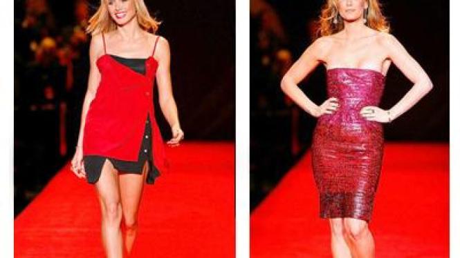 Gaun Merah Menggoda