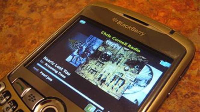 Slacker, aplikasi streaming musik untuk BlackBerry