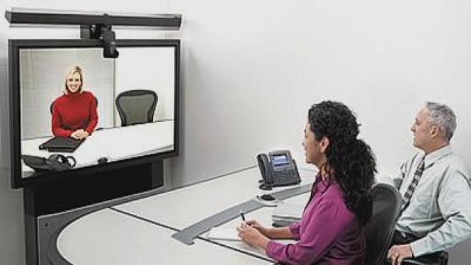 Virtual meeting atau video conference