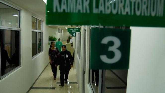 Ruang pemeriksaan kesehatan Capres dan Cawapres