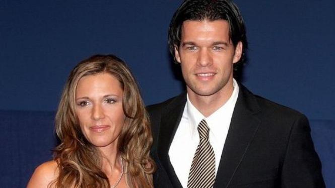 Simone dan Michael Ballack