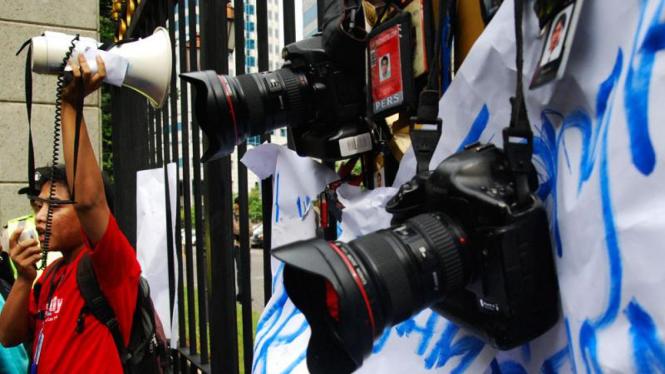 Demo Wartawan