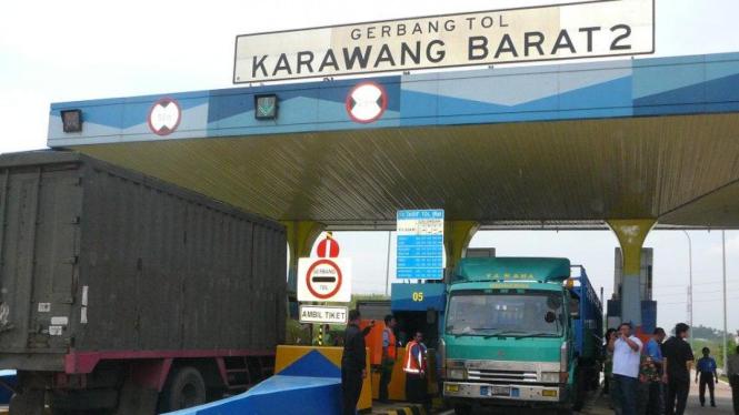 Gerbang Tol Karawang Barat 2