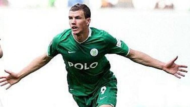 Edin Dzeko, pemain Wolfsburg