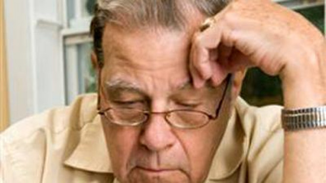 Ilustrasi demensia atau pikun.